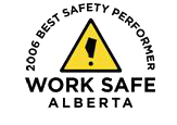 Work Safe Alberta 2006 Best Safety Performer award